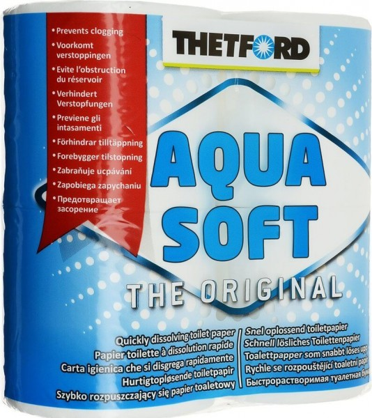 Thetford Aqua Soft Pak 4 Rollen