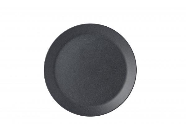 ONTBIJTBORD BLOOM 240 MM-PEBBLE BLACK