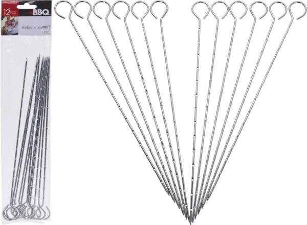 Bbq Pennen Set Van 12Sts 27Cm