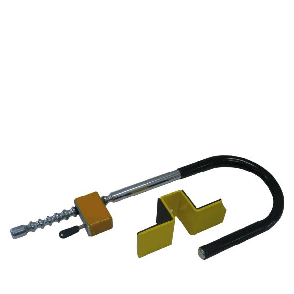 Milenco Wielklem Compact C Aluminium/Staal Velg
