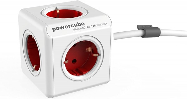 Powercube Stekkerdoos   5-Voudig