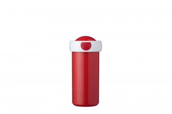 SCHOOLBEKERCAMPUS300ML-RED