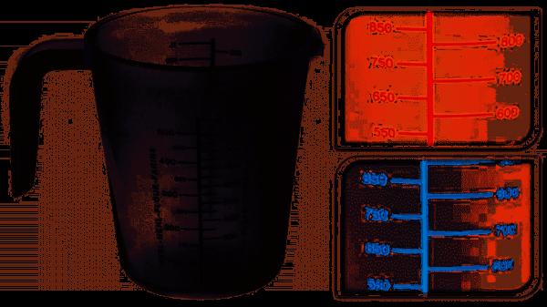 Maatbeker - Diverse Kleuren